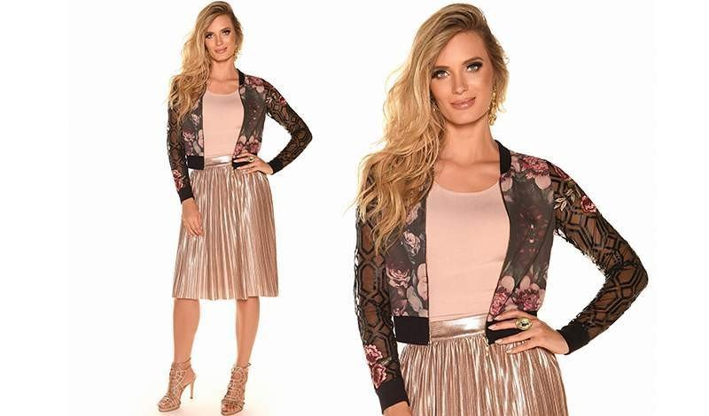 looks com jaqueta bomber moda evangelica