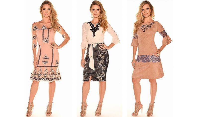 vestidos suede fasicinius blog via evangelica