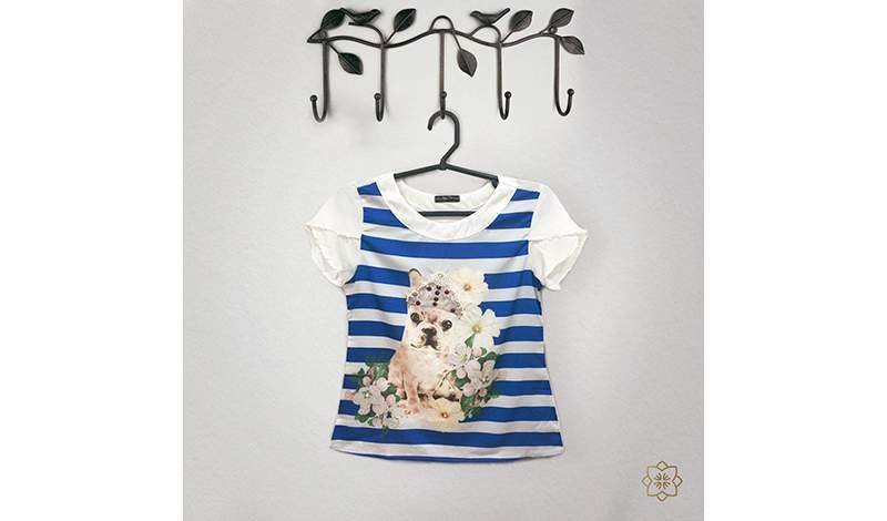 tshirts estampa cachorrinho jany pim foto still via evangelica