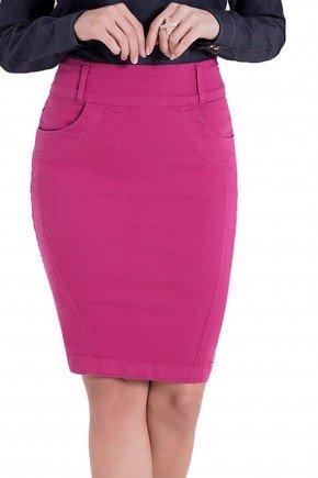 saia sarja collor pink tradicional laura rosa detalhes1 frente