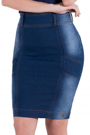 saia jeans lavagem secretaria laura rosa detalhes1 frente