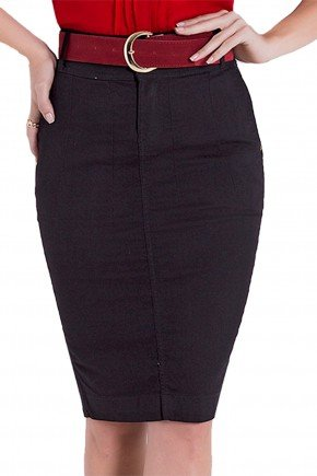saia lapis jeans escuro laura rosa detalhes1 frente