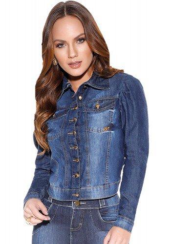 mini jaqueta jeans booes titanium frente