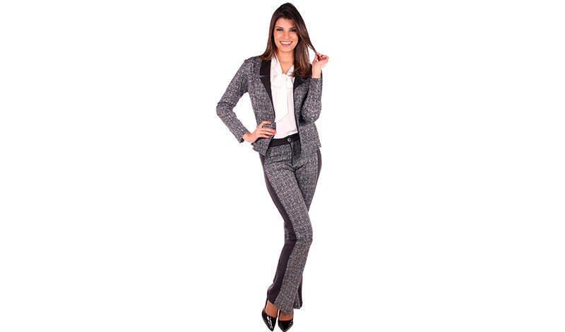 modelo com conjunto de calca e blazer para ir a igreja blog evangelica