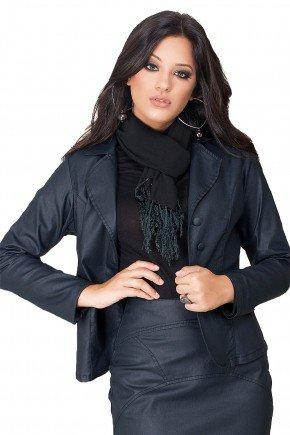 modelo morena blazer resinado preto dyork