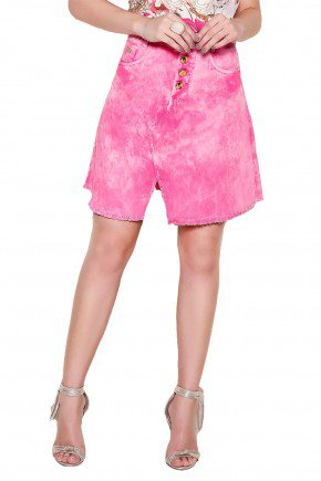 modelo cabelo loiro saia rosa desfiada1