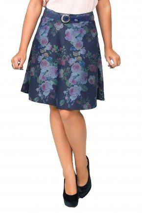modelo cabelo castanho saia floral escura dyork1