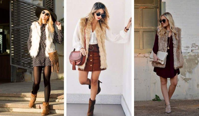blog moda colete frio inverno peludo