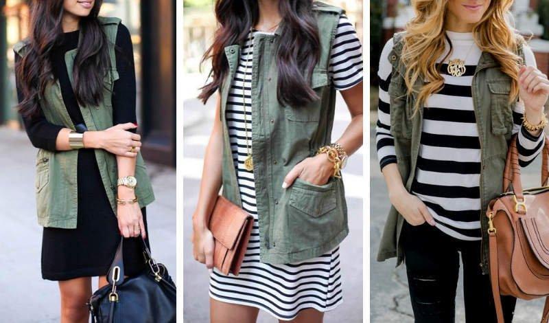 blog moda colete verde militar