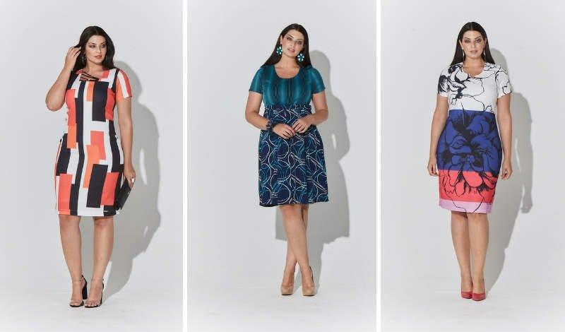 blog moda plus size vestido estampa