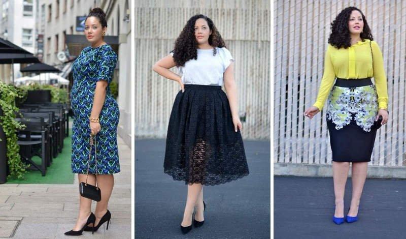 blog moda plus size modelo cabelo cacheado