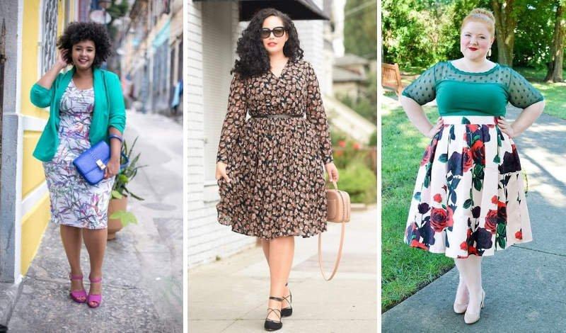 blog moda plus size estampas saias