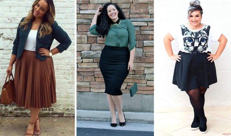blog moda plus size tipos saias