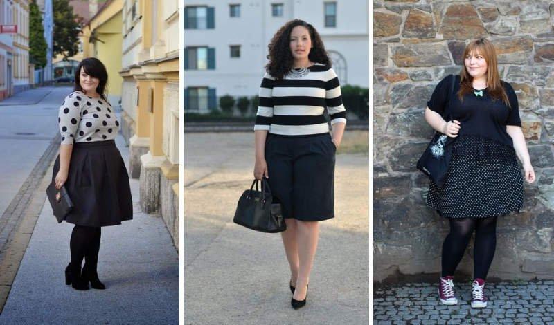 blog moda plus size manga tres quarto