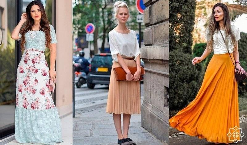 moda evangelica vestido londo saia longa plissada