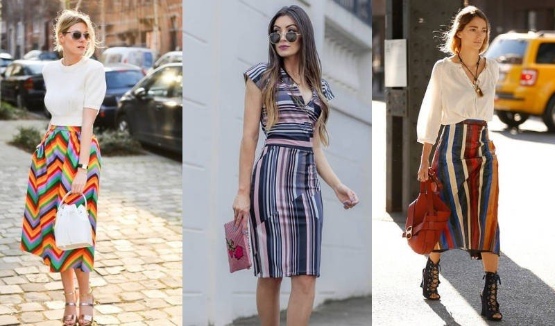 blog post tendencia listras coloridas vestido gisele santana