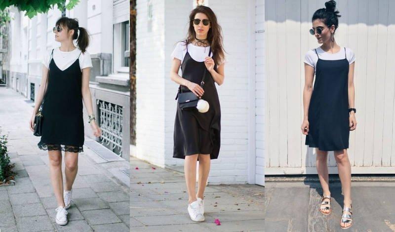 blog tendencia moda evangelica vestido preto sobreposicao