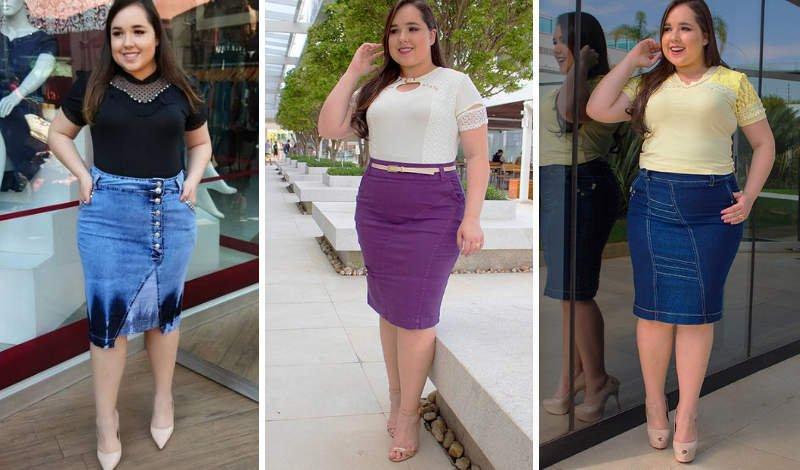 blog moda plus size saias