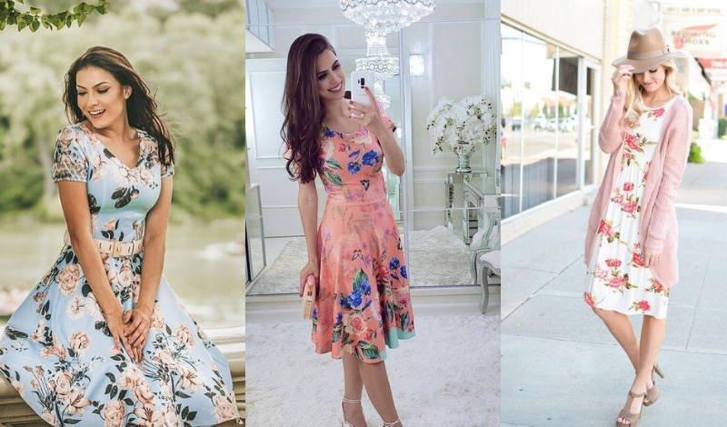 blog post estilo romantica vestidos floral