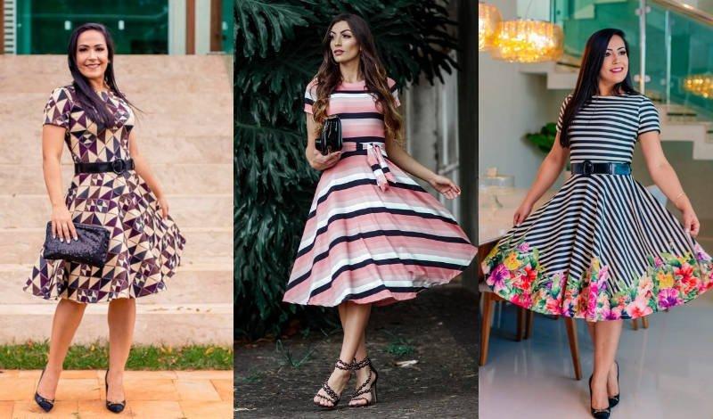 blog vestido rodado