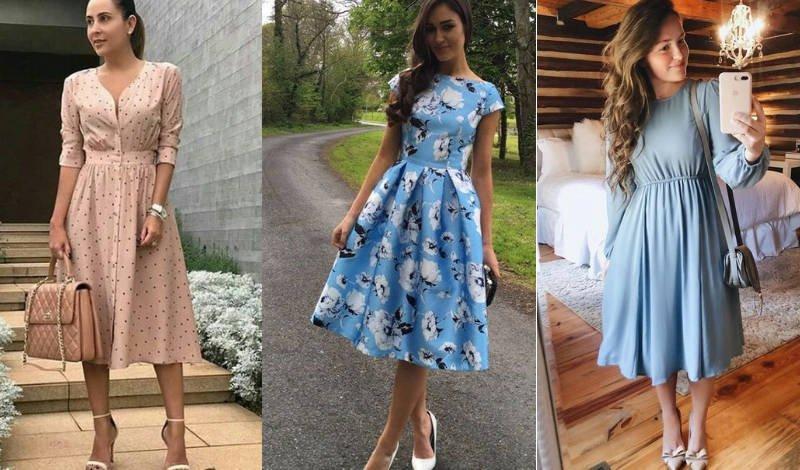 blog vestido midi rodado