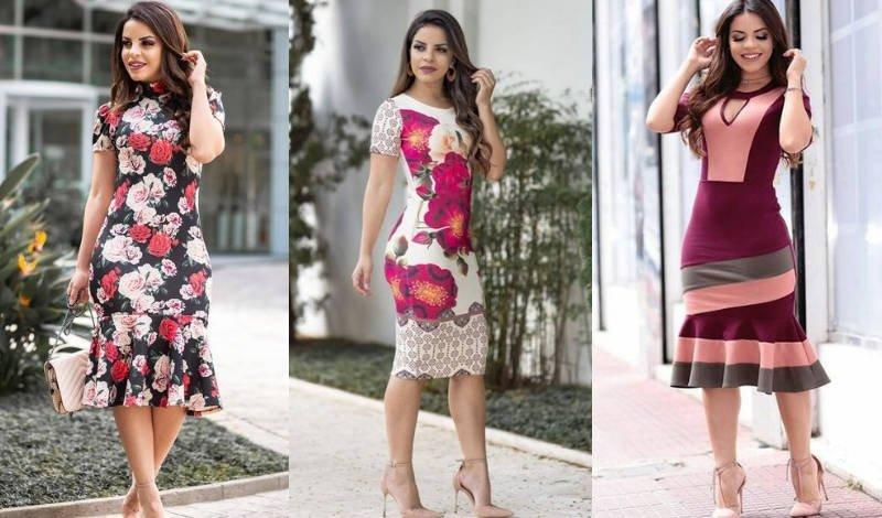 blog vestido midi tubinho