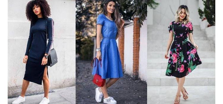Vestido midi: elegância e modernidade para todas as ocasiões!