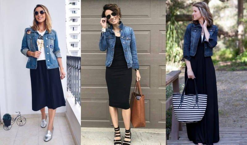 blog jaqueta saia preta