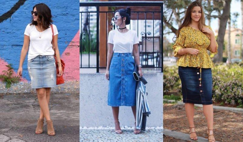 blog saia jeans modelos diversos
