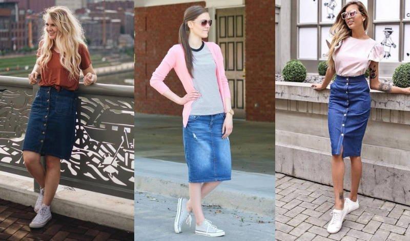 blog saias jeans casuais segundo post