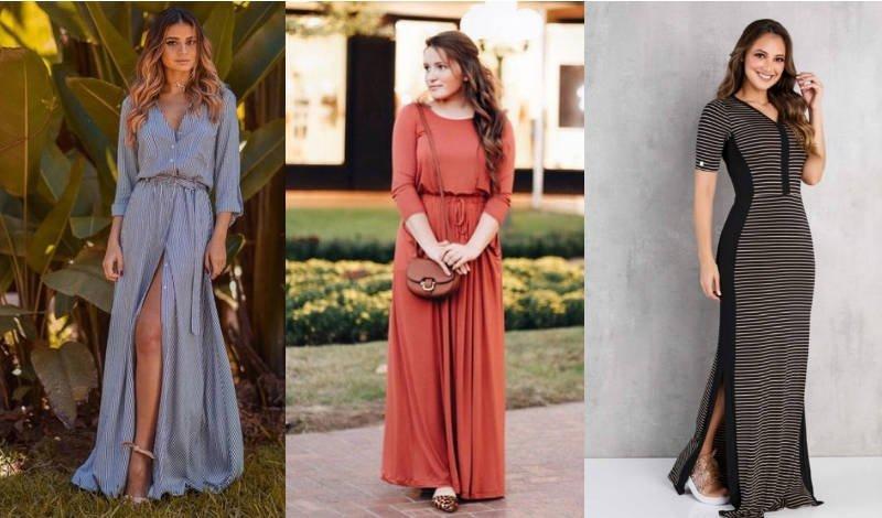 blog post vestido longo diversos