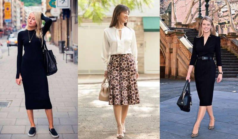 blog post saia mid vestido midi conjuntos sociais