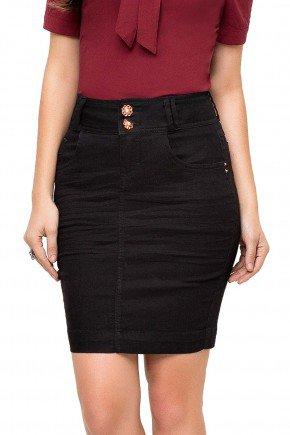 89087 modelo cabelo castanho saia tradicional preta sarja frente baixo