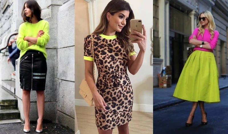 blog moda tendencia 2019 neon