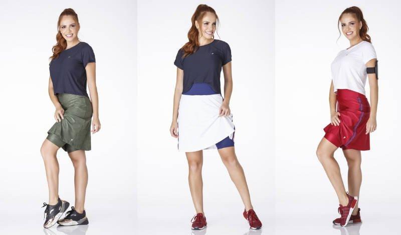 blog post epulari moda fitness saia calca shorts diversas