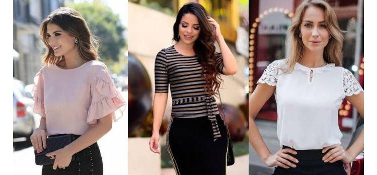 Top 5 modelos de blusas femininas que estão na moda!