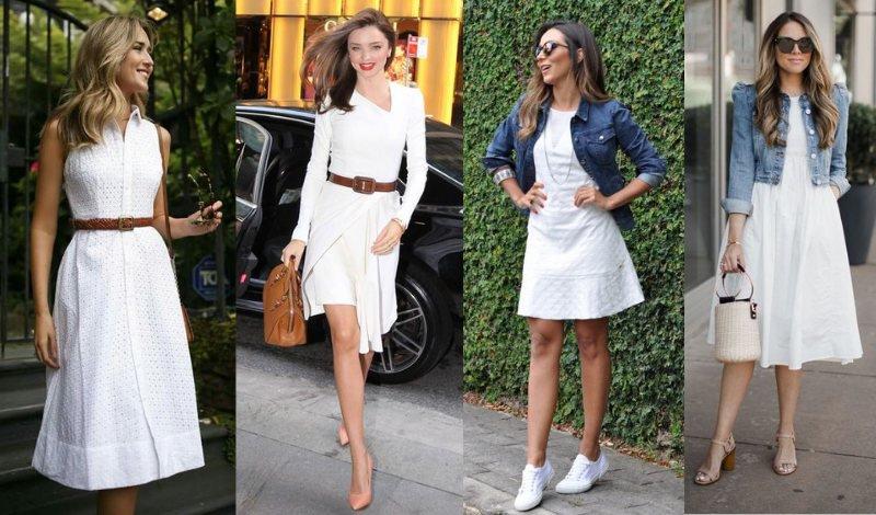 01 foto look vestido branco cinto jaqueta jeans easy resize com