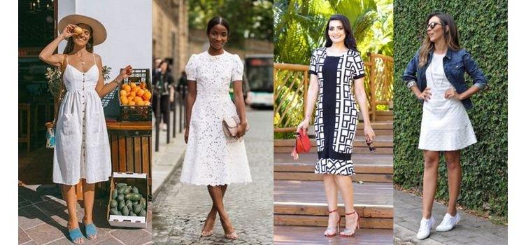 Vestidos brancos: onde e como usar essa peça super versátil