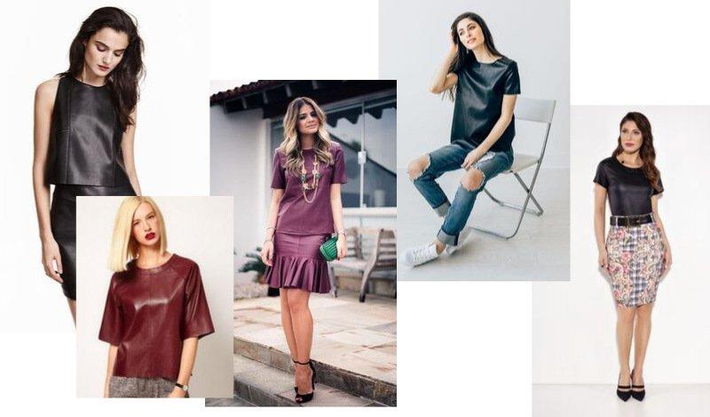 modelo tshirt couro moda evangelica