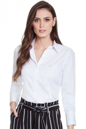 camisa social branca principessa diane frente2