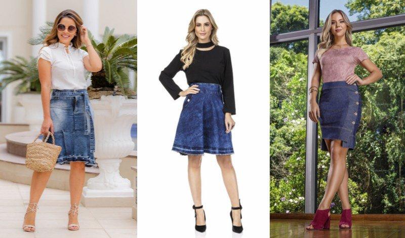 foto blog moda evangelica saia mullet jeans