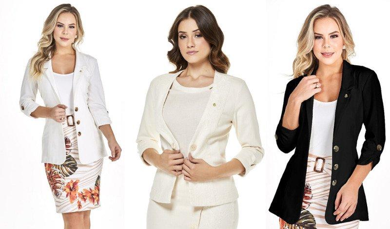 modelo blazer look evangelico blog moda evangelica