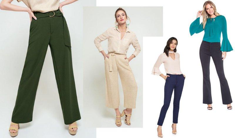 modelos calcas sociais look blog moda evangelica