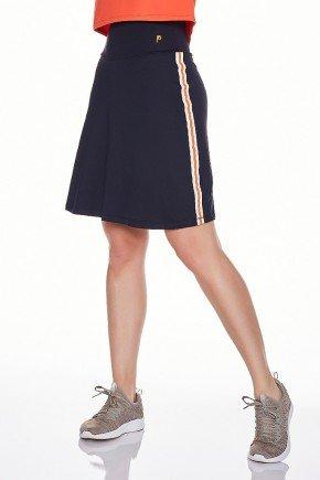 saia shorts fitness evangelica preta epulari frente lateral