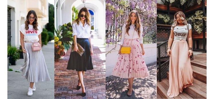 Como usar saia plissada? Sugestões para acertar no look!