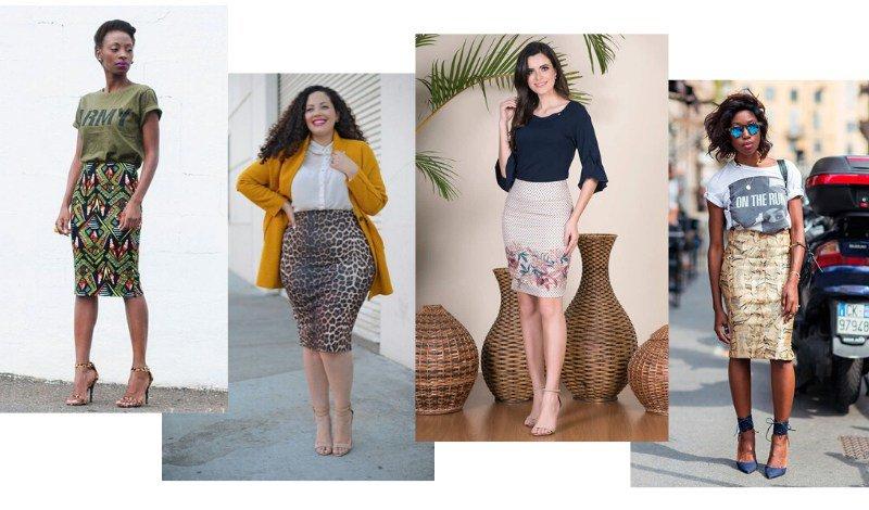 saia lapis estampada look moda evangelica blog easy resize com