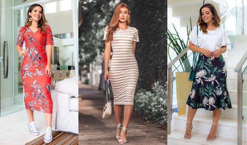 look moda evangelica tendencia saia vestido midi blog