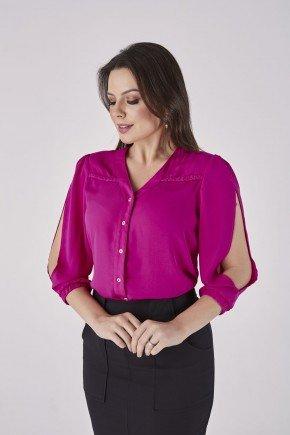 camisa pink evora cloa cl2010pk frente