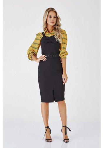 vestido preto valenca cloa frente