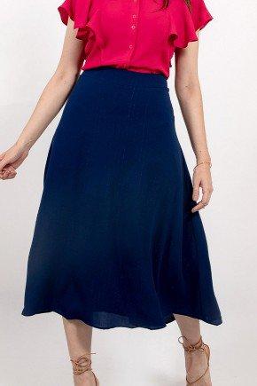 saia azul escuro midi rosie lekazis frente baixo